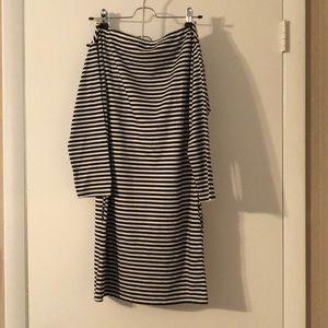 American Apparel Striped Dress One Size